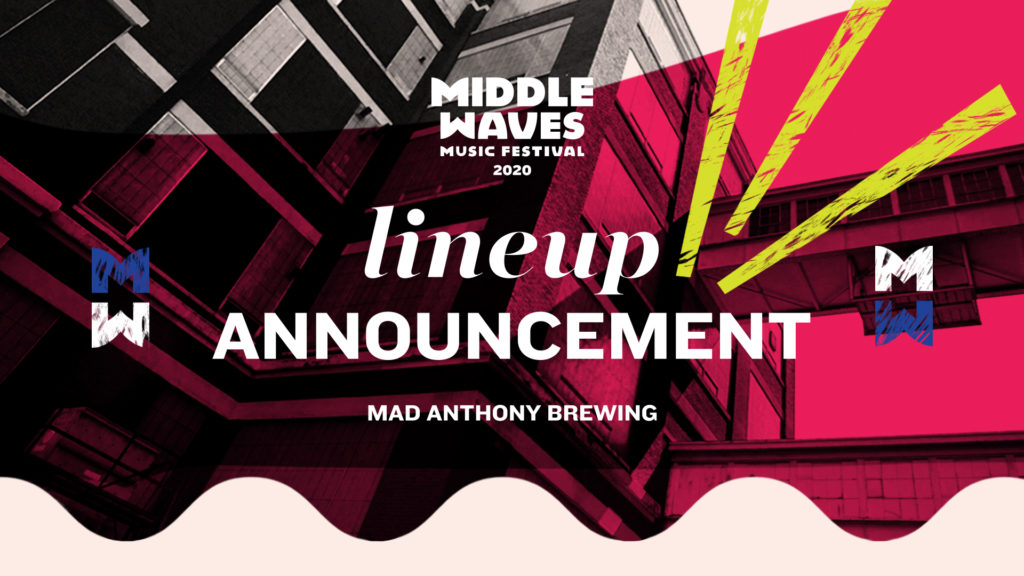 Middle Waves 2020 Lineup Announcement Event at Mad Anthony Brewing